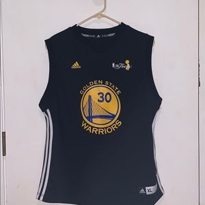 Youth XL GSW black jersey
